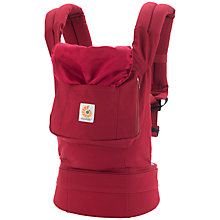 Buy Ergobaby Original Baby Carrier, Red Online at johnlewis.com
