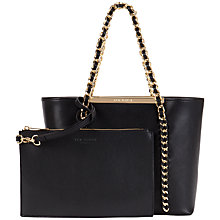 Buy Ted Baker Clover Small Leather Shopper Bag Online at johnlewis.com