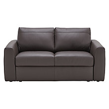 Buy House by John Lewis Finlay II Small Leather Sofa Online at johnlewis.com