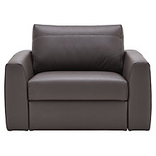 Buy House by John Lewis Finlay II Leather Snuggler Online at johnlewis.com