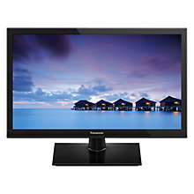 "Buy Panasonic 24CS500B LED HD Ready 720p Smart TV, 24"" with Freeview HD and Built-In Wi-Fi with Monster HDMI Cable Online at johnlewis.com"