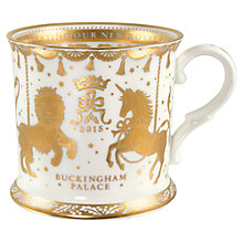 Buy Royal Collection Royal Baby Porcelain Tankard 2015 Online at johnlewis.com