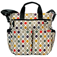 Buy Skip Hop Duo Signature Dot Wave Bag, Multi Online at johnlewis.com