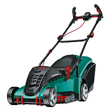 Buy Bosch Rotak 43 Ergoflex Rotary Hand-Propelled Lawnmower Online at johnlewis.com