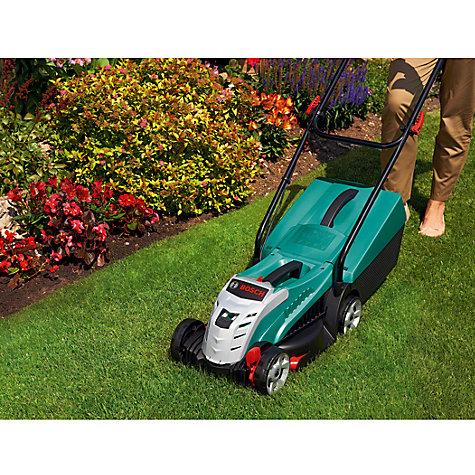 buy bosch rotak 32 li high power cordless lawnmower john lewis. Black Bedroom Furniture Sets. Home Design Ideas