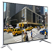 "Buy Panasonic Viera TX-40CX400B LED 4K Ultra-HD 3D Smart TV, 40"" with Freeview HD and Built-In Wi-Fi with Monster 4K HDMI Cable Online at johnlewis.com"