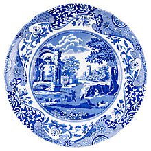 Buy Spode Blue Italian Side Plate, Dia.20cm, Seconds Online at johnlewis.com