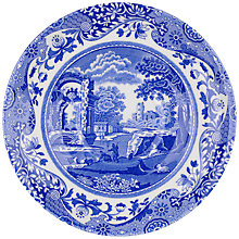 Buy Spode Blue Italian 13cm Saucer, Seconds Online at johnlewis.com