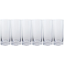 Buy Dartington Crystal All Purpose Highball, Clear, Set of 6 Online at johnlewis.com