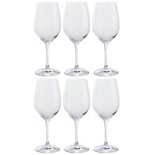 Buy Dartington Crystal All Purpose White Wine Glasses, Clear, Set of 6 Online at johnlewis.com