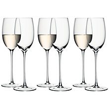 Buy LSA International Bar White Wine Glasses Online at johnlewis.com