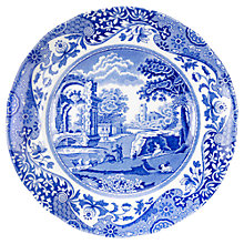 Buy Spode Blue Italian Tea Plate, Dia.15cm, Seconds Online at johnlewis.com