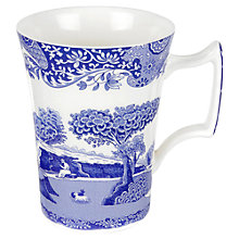 Buy Spode Blue Italian Mug, Seconds Online at johnlewis.com