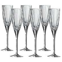 Buy Royal Doulton Linear Flutes, Set of 6 Online at johnlewis.com