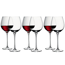 Buy LSA International Bar Red Wine Glasses, Set of 6 Online at johnlewis.com