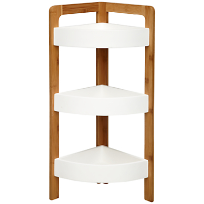 House by John Lewis Bamboo Corner Shelf Unit