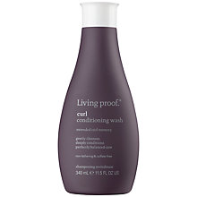Buy Living Proof Curl Conditioning Wash, 340ml Online at johnlewis.com