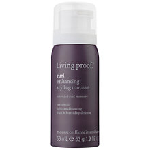Buy Living Proof Curl Enhancing Styling Mousse, 60ml Online at johnlewis.com