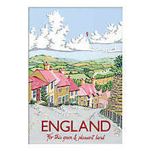 Buy Kelly Hall - England Unframed Print with Mount, 30 x 40cm Online at johnlewis.com
