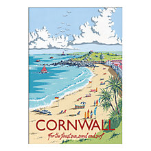 Buy Kelly Hall - Cornwall Unframed Print with Mount, 30 x 40cm Online at johnlewis.com