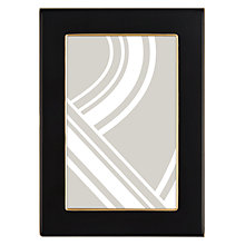 "Buy John Lewis Boutique Photo Frame, 4 x 6"", Black & Gold Online at johnlewis.com"