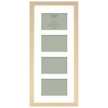 "Buy John Lewis 4 Aperture Croft Frame & Mount, 4 x 6"" (10 x 15cm) Online at johnlewis.com"