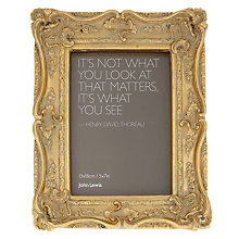 "Buy John Lewis Chelsea Ornate Picture Frame, 5 x 7"" Online at johnlewis.com"