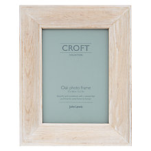 "Buy John Lewis Croft Picture Frame, 5 x 7"", Oak Online at johnlewis.com"