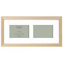 "Buy John Lewis 2 Aperture Croft Frame & Mount,  4 x 6"" (H10 x W15cm) Online at johnlewis.com"