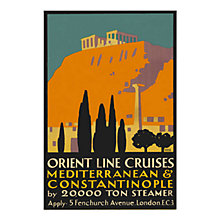 Buy P&O Heritage - Constantinople Unframed Print with Mount, 30 x 40cm Online at johnlewis.com