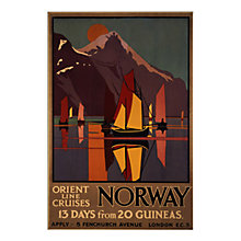 Buy P&O - Norway Unframed Print with Mount, 30 x 40cm Online at johnlewis.com