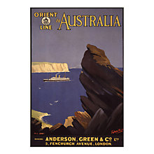 Buy P&O - Orient Australia Unframed Print with Mount, 30 x 40cm Online at johnlewis.com