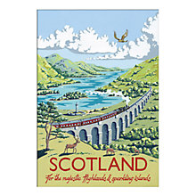 Buy Kelly Hall - Scotland Unframed Print with Mount, 30 x 40cm Online at johnlewis.com