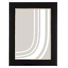 "Buy John Lewis Boutique Photo Frame, 5 x 7"", Black & Gold Online at johnlewis.com"