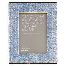 Buy John Lewis Fusion Zig Zag Photo Frame, 5 x 7 Online at johnlewis.com