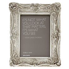 "Buy John Lewis Chelsea Ornate Photo Frame, 5 x 7"" (13 x 18cm) Online at johnlewis.com"