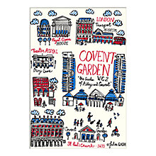 Buy Julia Gash - Covent Garden Unframed Print with Mount, 30 x 40cm Online at johnlewis.com