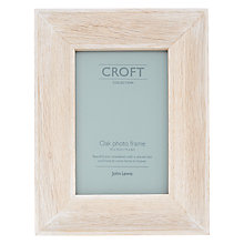 "Buy John Lewis Croft Photo Frame, 4 x 6"", Oak Online at johnlewis.com"