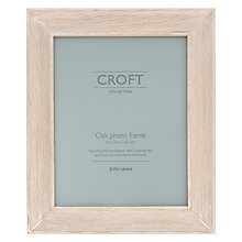"Buy John Lewis Croft Photo Frame, 8 x 10"", Soaped Oak Online at johnlewis.com"