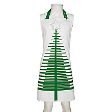Buy John Lewis Christmas Tree Apron Online at johnlewis.com
