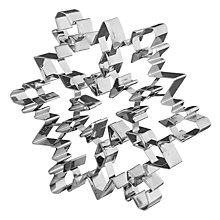 Buy John Lewis Large Snowflake Cutter Online at johnlewis.com