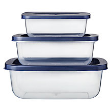 Buy John Lewis Nest Storage Containers, Set of 3 Online at johnlewis.com