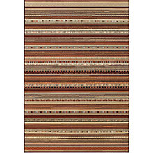 Buy Nobility Zheva Stripe Rug, Multi Online at johnlewis.com