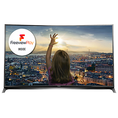Panasonic Viera TX-65CR852B LED Curved 4K 3D Smart TV, 65