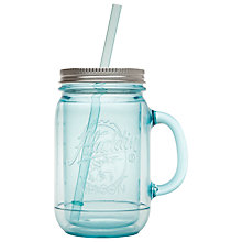 Buy Aladdin Mason Tumbler, Aqua Online at johnlewis.com