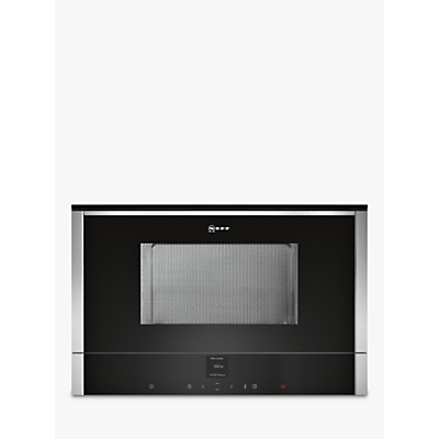 Image of Neff C17WR00N0B Built-In Microwave, Stainless Steel