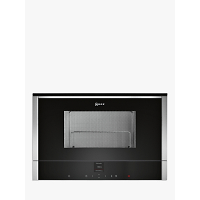 Image of Neff C17GR01N0B Built-In Microwave with Grill, Stainless Steel