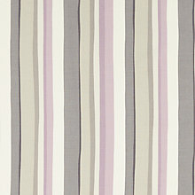Buy John Lewis Alvar Stripe Curtain, Lilac Online at johnlewis.com