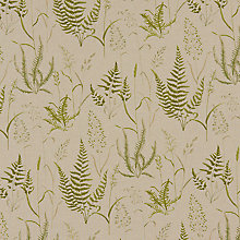 Buy John Lewis Fern Field Curtain, Green Online at johnlewis.com