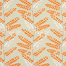 Buy John Lewis Malin Curtain, Clementine, Was £22.00 per metre, Now £11.00 per metre Online at johnlewis.com